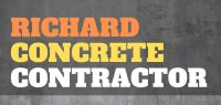 Richard Concrete Contractor Logo
