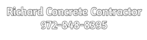Richard Concrete Contractor Footer Logo